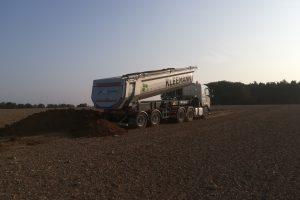 Schüttgut-Transporte