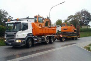 Maschinentransporte